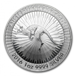 Nugget 1 Ounce in zilver (25 minimum)