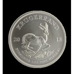 Krugerrand 1 Ounce in zilver (in verpakkingen van 25)