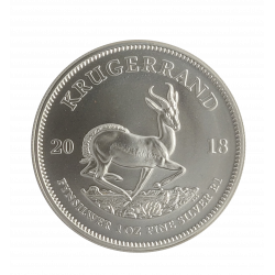Krugerrand 1 Once en argent (25 minimum)