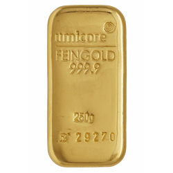 250 gr. Gold Bar