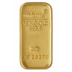 250 gr. goudbaar