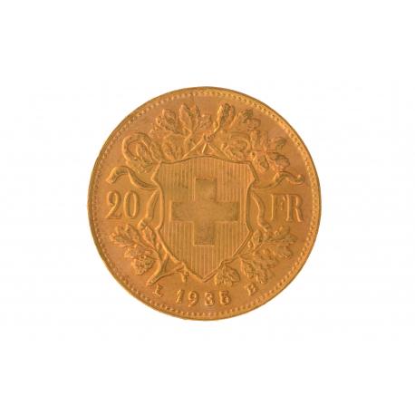 Vrenelis 20 Francs Suisse