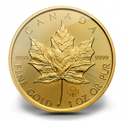 Trade in a Kilo of gold for 31,5 Maple Leaf 1 Ounce (cost 2%)