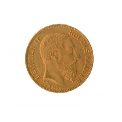 Trade in a Kilo of gold for 169 Belgian Louis 20 Francs (1.9%)