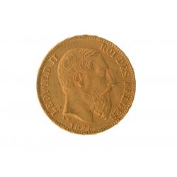 Wissel u kilo goud tegen 169 Belgische Louis 20 Francs (1.9%)