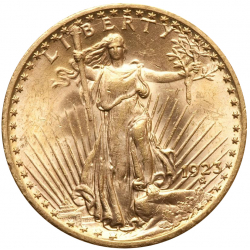 Lot 10 x 20 Dollars St Gaudens & Liberty AU