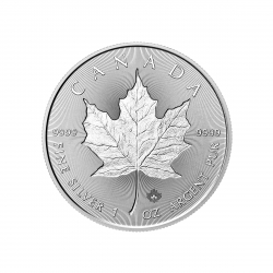 Maple Leaf 1 Once en argent (25 minimum)