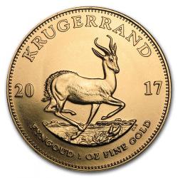 Wissel u kilo goud tegen 31 Krugerrand 1 Ounce (kost 3.6%)