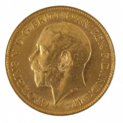 Oud Britse Sovereign 1/2 Pond (UK)