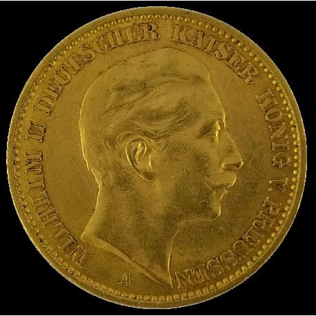 20 Deutsche Mark Or