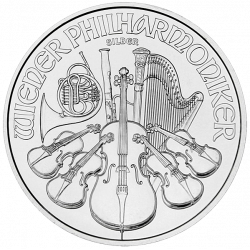 Philharmonic 1 Ounce in silver (in packs of 20)
