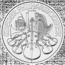 Philarmonic 1 Ounce in zilver (in verpakkingen van 20)