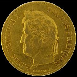Louis Philippe I 40 Francs (France)