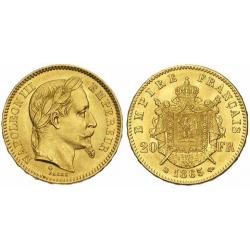 Trade in a Kilo of gold for 166 Napoléon coins (3.77%)