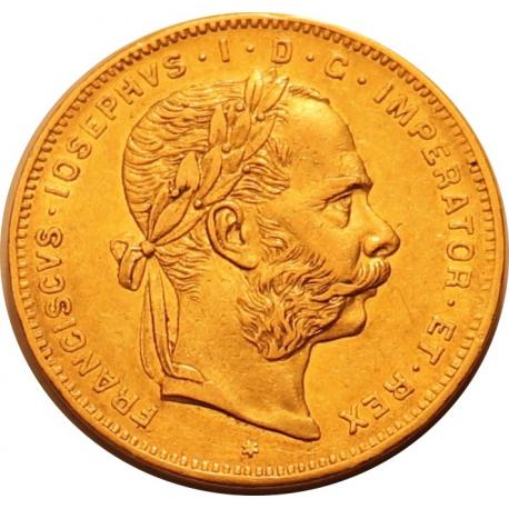 8 Forints (Austria) - 20 Francs