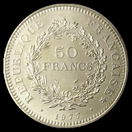 5 Francs in zilver (Frankrijk)