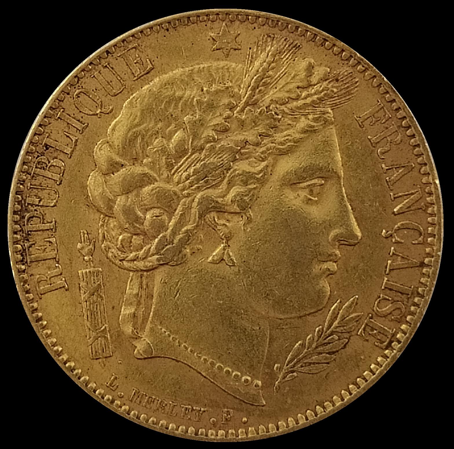 Cérès Napoléons or