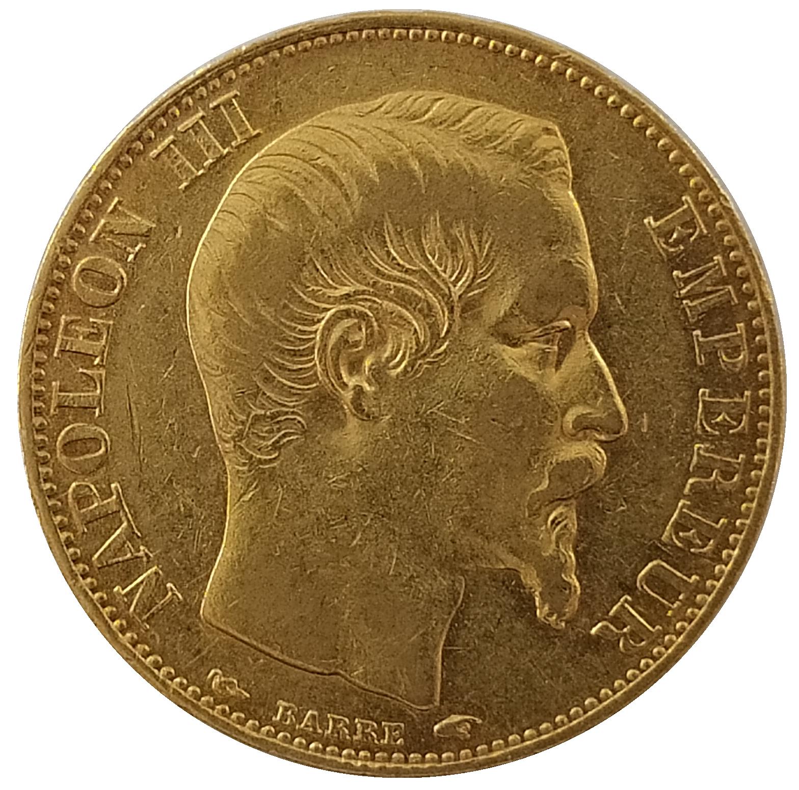 Napoléons 20F tête nue