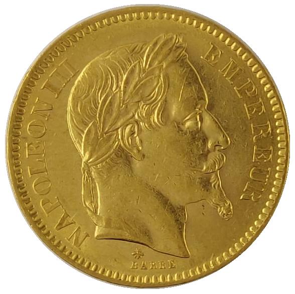 20F Napoléons Laurés
