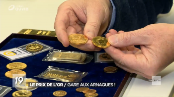 Le prix de l'or / Gare aux arnaques !