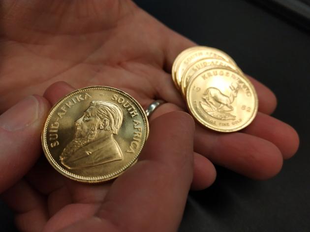 Une petite ruée vers l'or